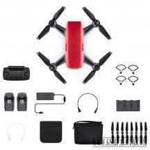 DJI Spark - Fly more combo drón - összes tartozékával
