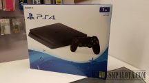 Sony PlayStation 4 Slim Jet Black 1TB (PS4 Slim 1TB) Játékkonzol