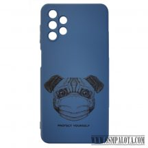 Design tok, Samsung Galaxy A32 5G,kék, Kutya