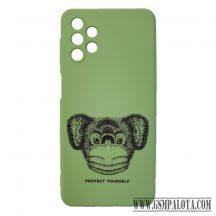 Design tok , Samsung Galaxy A32 5G,zöld, Koala
