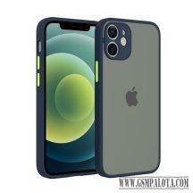 iPhone 13 Mini műanyag tok, kék, zöld