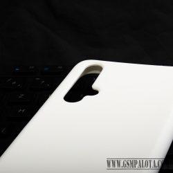 Premium szilikon tok, Honor 20/Huawei Nova5T,Fehér