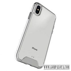 Ütésálló szilikon hátlap, Galaxy A41, Átlátszó