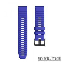 Garmin Fenix 6S/5S szilikon óraszíj 20 mm, Kék