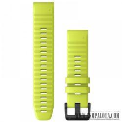 Garmin Fenix 6S/5S szilikon óraszíj 20 mm, Zöld