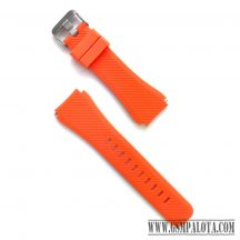 Samsung Gear S3/Watch szilikon óraszíj,46 mm,Narancs