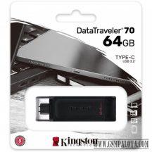 Kingston 64 GB Data Traveler 70 USB-C 3.2, pendrive