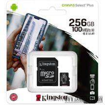 Kingston Canvas Select Plus MicroSDHC 256GB, C10