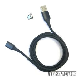 Mágneses töltő és adatátviteli kábel, Type-C