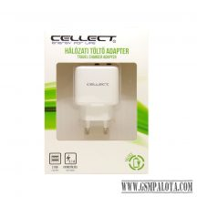 1.Hálózati töltő adapter 2 USB csatalkozóval, 3.1A