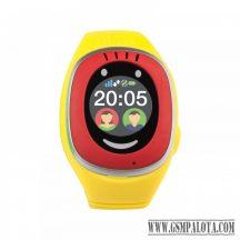 3.MyKi Touch GPS/GSM okosóra,Piros/Sárga