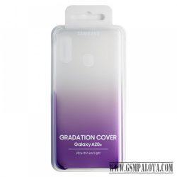 Samsung Galaxy A20e gradation cover hátlap, Viola