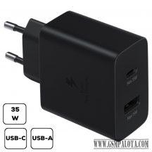 Samsung duo kábel nélküli töltő adapter 35W,Fekete