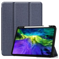 Apple iPad 11 2020 tablet tok toll tartóval, Kék