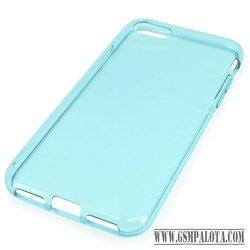 iPhone SE(2020)/ 8/7 vékony TPU szilikon hátlap,kék