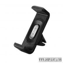 XO C8 autós telefontartó szellőzőrácsra, Fekete
